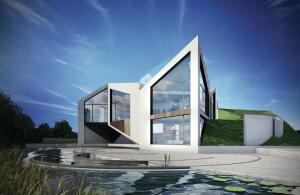 Dynamic D*Haus opens into eight configurations for maximum energy efficiency.