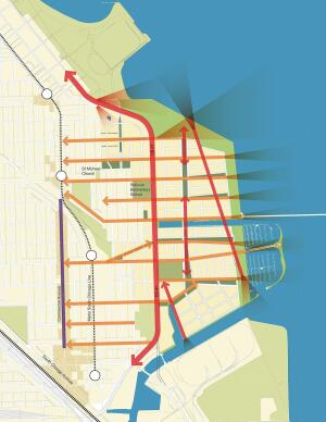 Implementation of the Lakeside master plan, approved by Chicago City Council in 2010, is slated to begin in 2013.