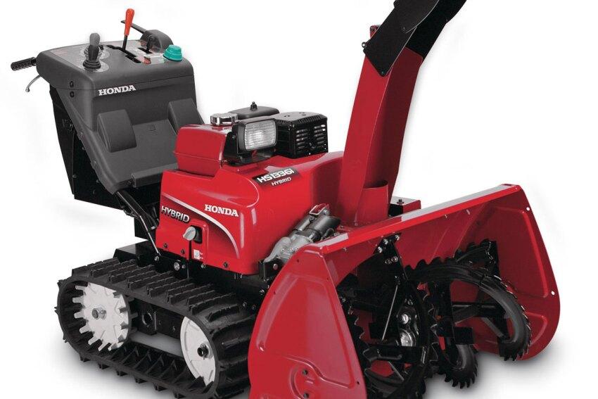 Plow Through: Honda HS13361 Hybrid Snowblower