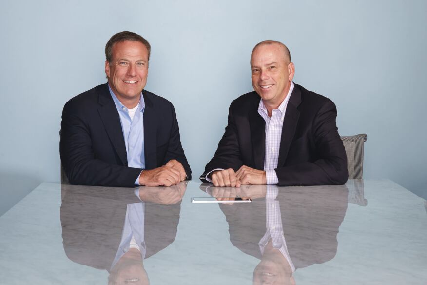 Over the past decade, Bob Faith (left) and Terry Danner built two property management empires. Now, Greystar and Riverstone with be together under one banner.