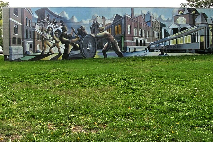 Pullman mural.