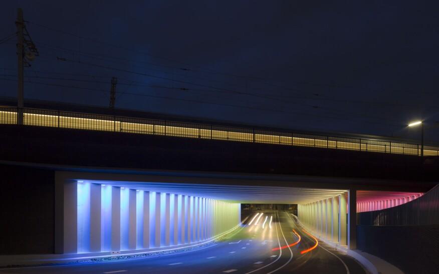 The Marstunnel underpass