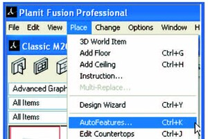 Planit Fusion: Creating Stacked Moldings