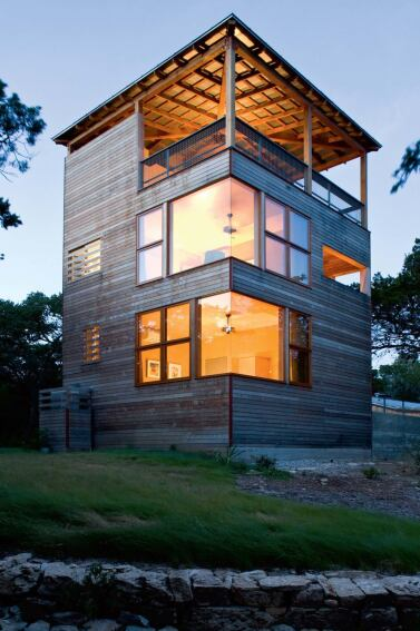 tower house, leander, texas