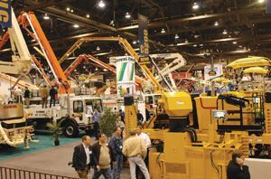 The equipment at World of Concrete is impressive in scope, but there are a lot of people skills behind it.
