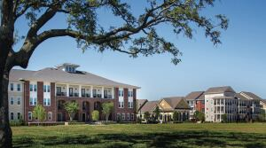 Heritage Senior Residences at Columbia Parc marks the fourth and final phase of housing in the master-planned, 52-acre Columbia Parc at the Bayou District in New Orleans, which replaces the former St. Bernard public housing project that was ravaged by Hurricane Katrina.