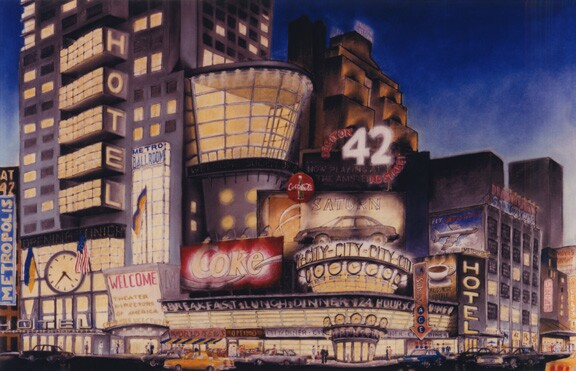 "Stern rendering for ""42nd Street Now!"""