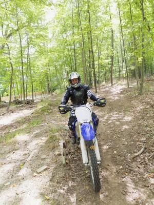 Case Award winner Robert Gockeler and his sons are avid dirt-bike racers.