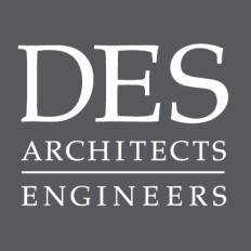 DES Architects + Engineers Logo