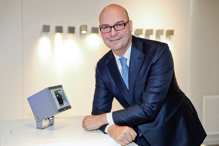 Andrea Sasso, CEO of iGuzzini.
