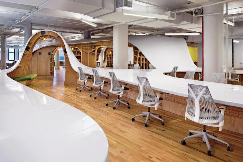 Innovative Detail: The Superdesk at the Barbarian Group Office