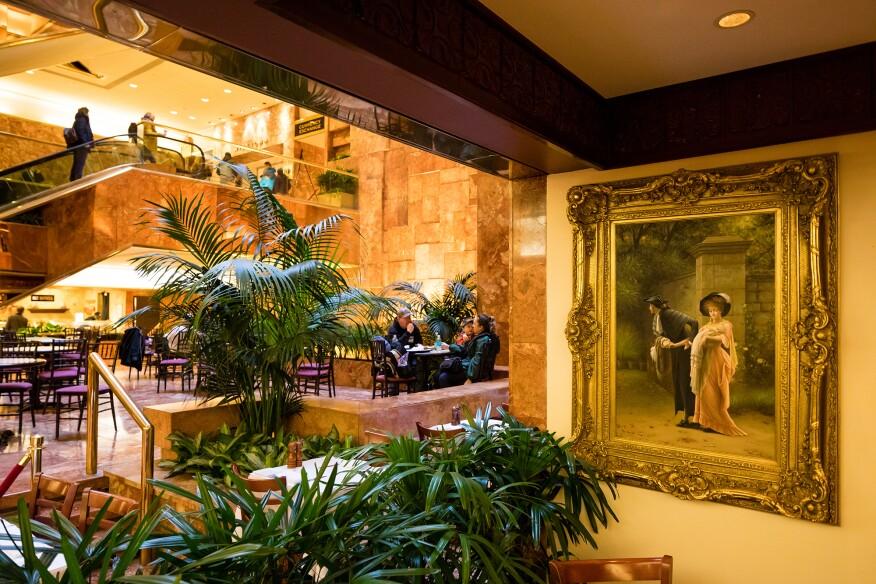 Trump Tower atrium