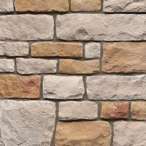 StoneCraft stone veneer from the Tapco Group offers the look of natural stone but is easier to install and more affordable. Well suited for the kitchen and bath, it can be used in a variety of applications, including niches, islands, around a range hood, or on exterior fa§ades and fire pits. It cannot be used for walkways or other horizontal applications or be submerged in water (in a swimming pool, for example). The veneer is available in nine profiles, ranging in appearance from smooth and water-worn to deeply ridged and fieldstone-inspired, and in a variety of colors. It can span an average of 150 square feet of nonrepeating textures for each stone profile, and no two stones are exactly the same. thetapcogroup.com