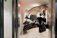 Riding the Elevator at Dover Street Market
