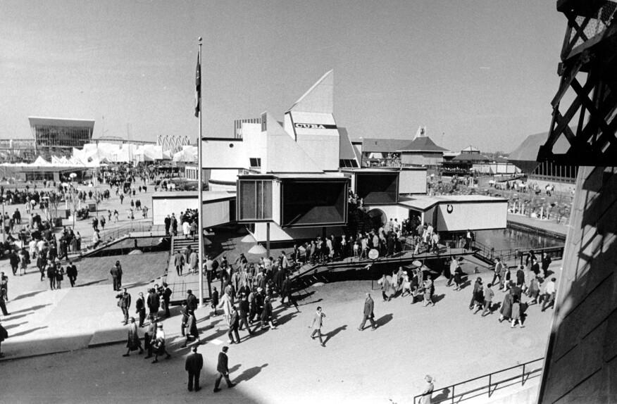 Vittorio Garatti's Cuba Pavillion from Montreal, 1968