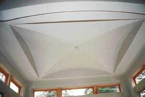 Framing a Cross-Vault Ceiling