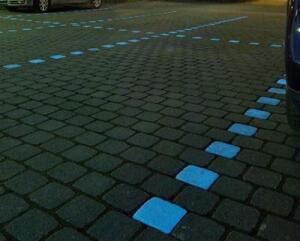 NightTec Leuchtsteine illuminated pavers.
