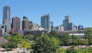 Denver skyline from Pixabay