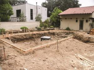 The CSLB received several complaints about unfinished pool projects like this.