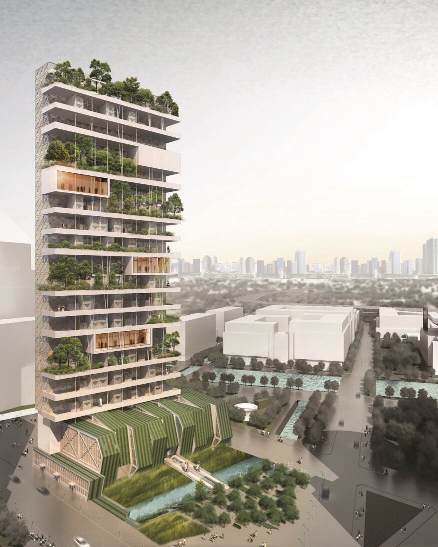 Imminent Bloom, New York, by WDG Architecture