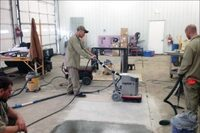 Concrete Polishing Training for Inmates