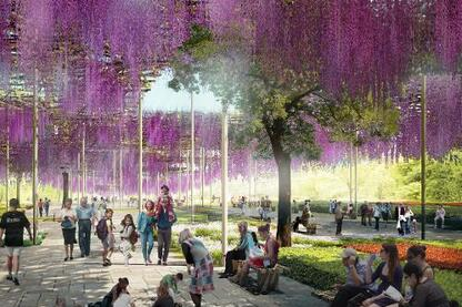Beijing Horticultural Exposition Masterplan & Pavilion