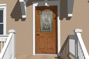 Cost Vs Value Project Entry Door Replacement Fiberglass