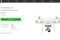 The Apple Store Now Sells Drones