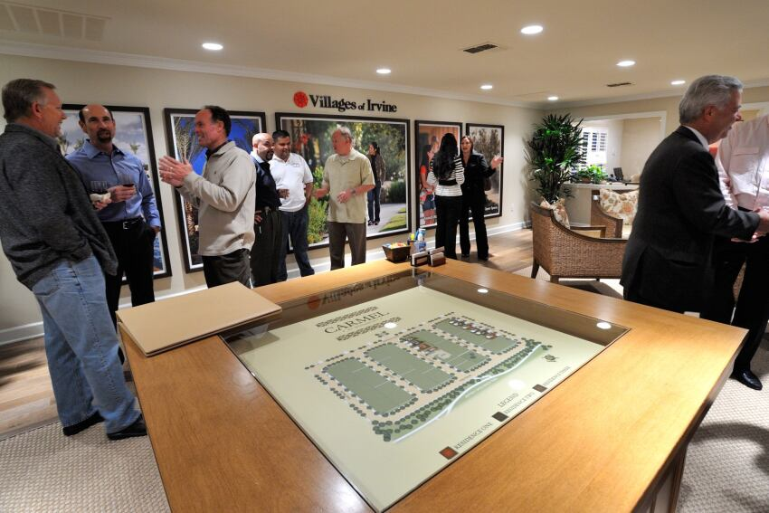 Potential Buyers Flock to Opening of New Home Series