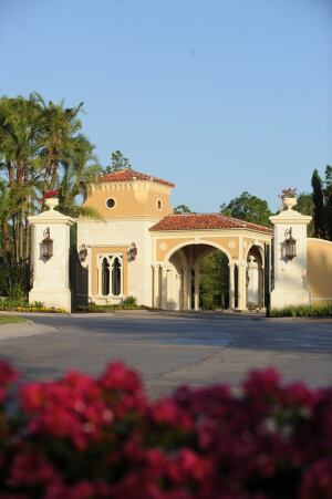 Disney Imagineers planned Golden Oak, a community of high-end resort homes within Walt Disney World Resort near Orlando. Even the community's clubhouse has a Mediterranean architectural style.
