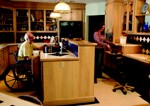 Students and designers study kitchen use