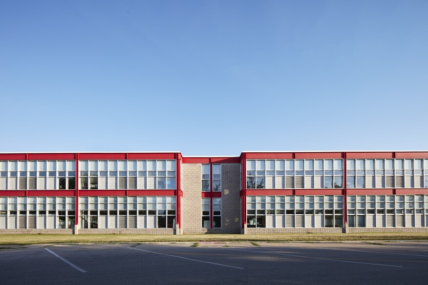 Leers Weinzapfel addition to Lillian Schmitt Elementary School