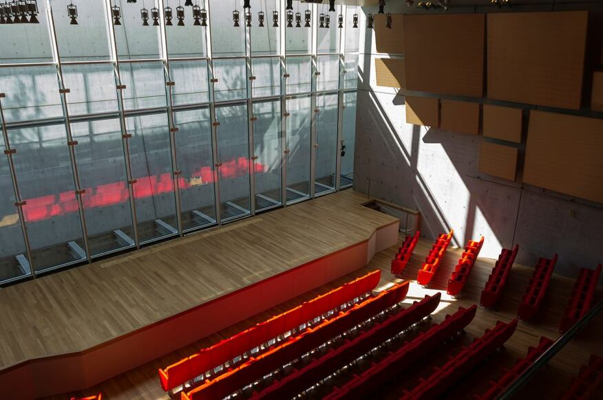 Auditorium. Photographed September 2013.