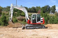 New excavator from Takeuchi