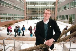 Wyck Knox, AIA, LEED AP, of VMDO Architects on greening schools and curricula