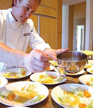 Residents learn cooking basics and beyond through on-site classes run by firms such as Big City Chefs.