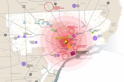 TechTown District Plan