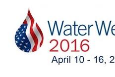 2016 Water Week Announced