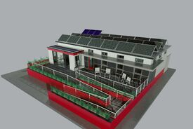 2013 Solar Decathlon: Chameleon House