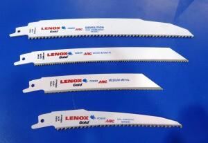 Lenox Power Arc recip blades