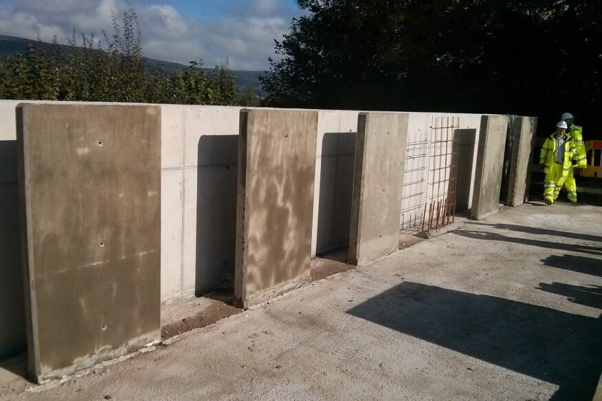 Concrete being tested as a part of the Materials for Life initiative by a trio of universities in the U.K.