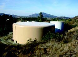 Otay's tank 485-1 is just one of many tanks that serve the sewer needs of about 5000 homes and businesses.