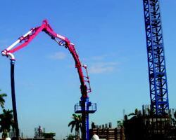 Self-Climbing Placing Boom Speeds Project