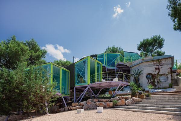 "The ""House in Never Never Land,"" located on the island of Ibiza."