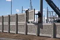 Stackable Precast Wall Sections