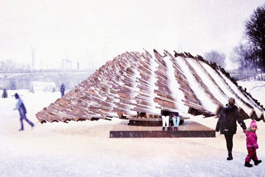 The Hybrid Hut - Design by Rojkind Arquitectos