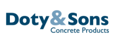 Doty & Sons Concrete Product, Inc. Logo