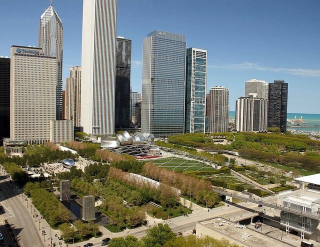 Millennium Park Architect Magazine Edward Uhlir Faia Mcdonough Associates Gehry Partners