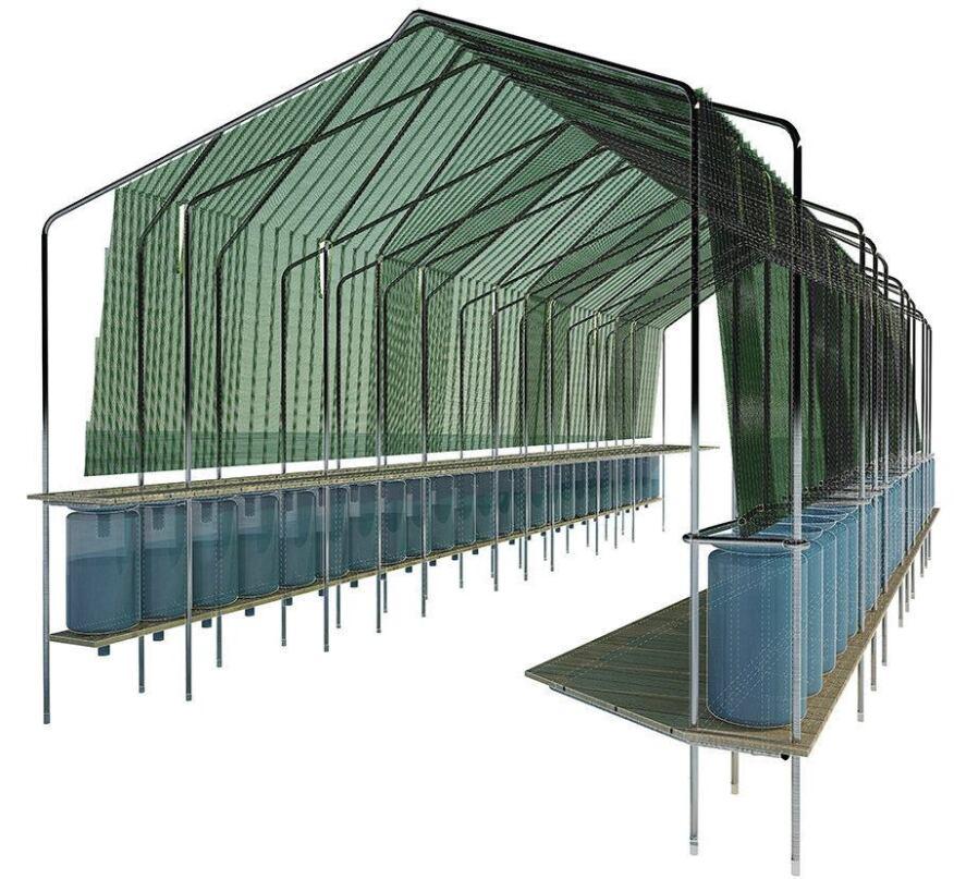 Hydrophilic Hoophouse