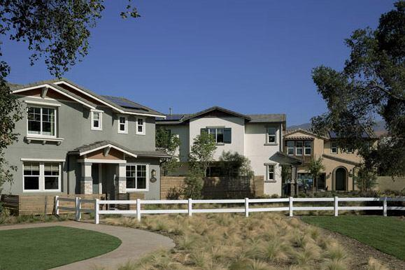 Homes in Olson's Oakgrove Walk community will come standard with 1.5 kW solar systems.